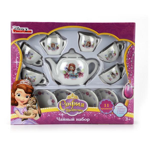 Набор посуды «Принцесса София», керамика, 11 предметовАксессуары и техника для детской кухни<br>Набор посуды «Принцесса София», керамика, 11 предметов<br>