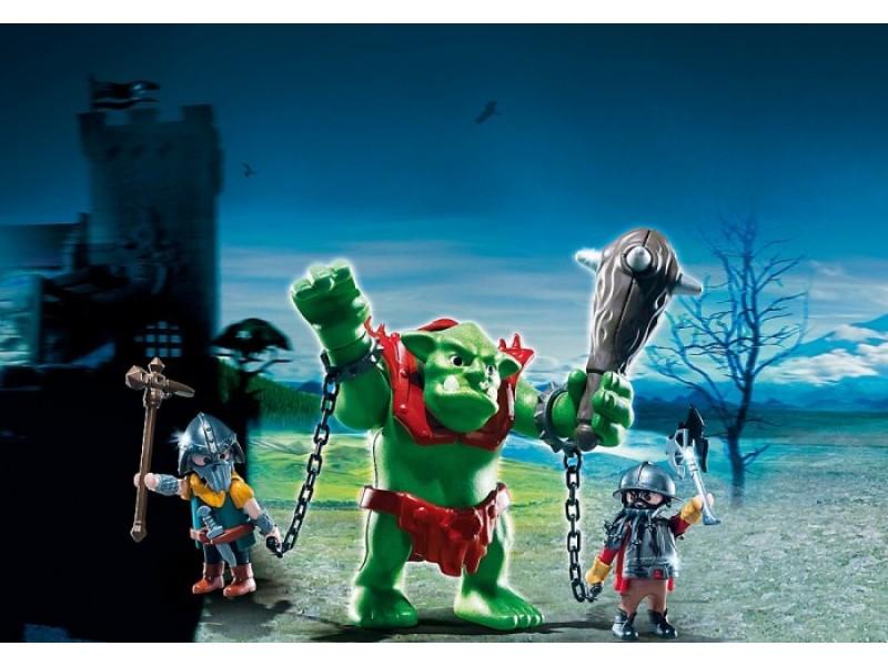 Игровой набор Рыцари: Гигантский тролль и боевые гномыРыцари<br>Игровой набор Рыцари: Гигантский тролль и боевые гномы<br>