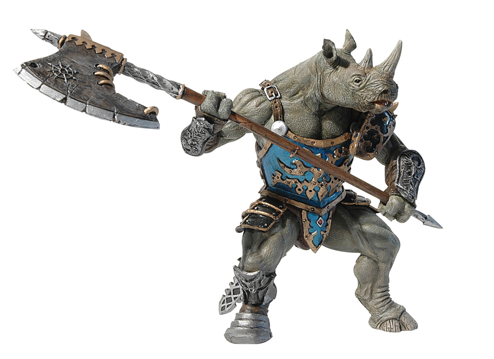 Фигурка Человек-носорог