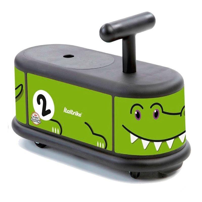 Каталка Крокодил с поворотными колесамиМашинки-каталки для детей<br>Каталка Крокодил с поворотными колесами<br>