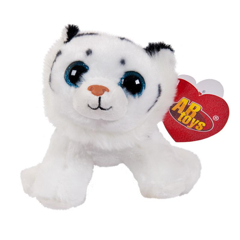 Купить Мягкая игрушка – Тигренок белый, 14 см, ABtoys