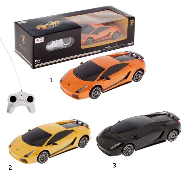 картинка Машина р/у Lamborghini, 18 см, масштаб 1:24 от магазина Bebikam.ru