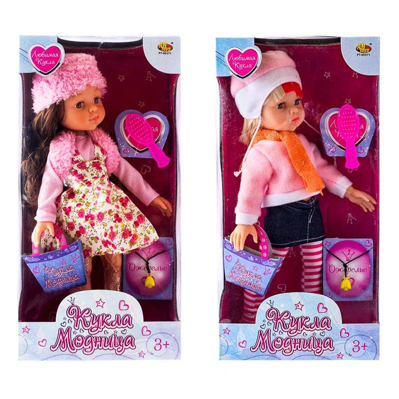 Купить Кукла - Модница с аксессуарами, 3 вида, ABtoys