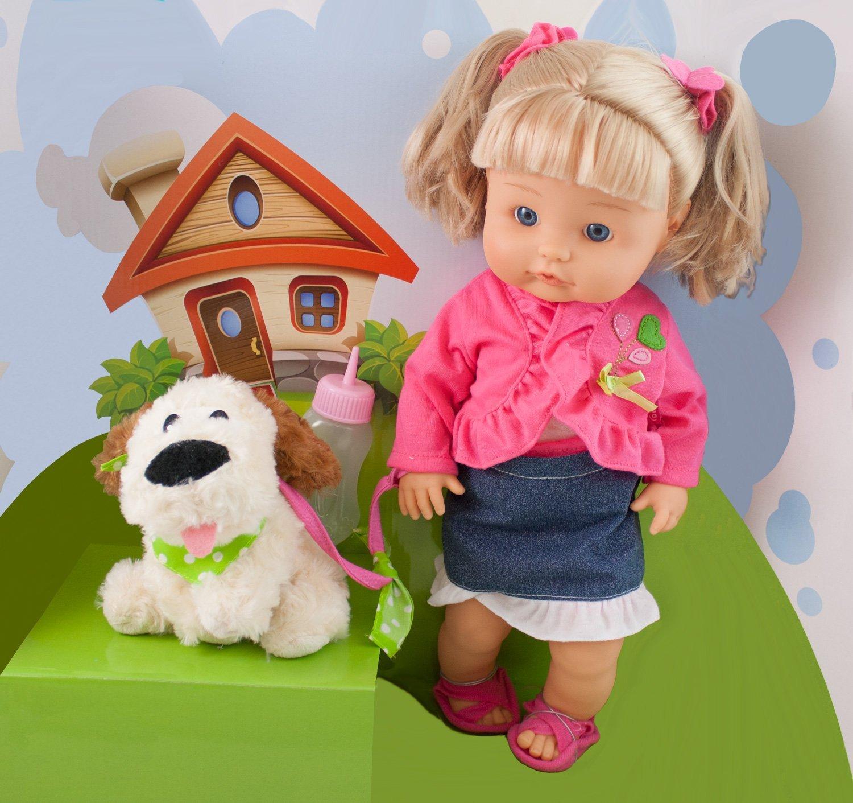 Картинки кукла с собачкой
