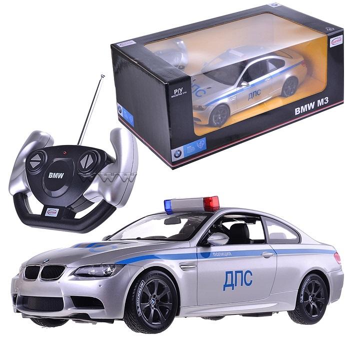 Радиоуправляемая полицейская машинка, масштаб 1:14, BMW M3 Police 02Машины на р/у<br>Радиоуправляемая полицейская машинка, масштаб 1:14, BMW M3 Police 02<br>