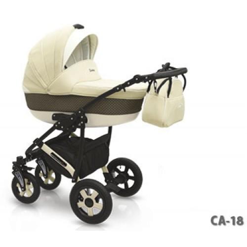 Детская коляска Camarelo Carera 2 в 1, цвет CA_18Детские коляски 2 в 1<br>Детская коляска Camarelo Carera 2 в 1, цвет CA_18<br>