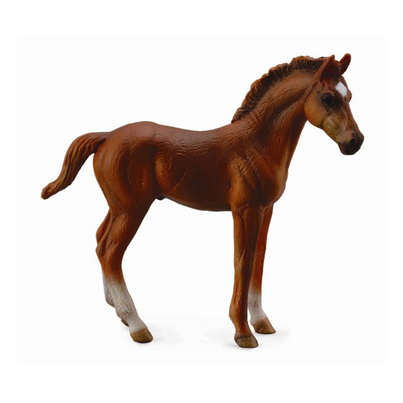 Фигурка Gulliver Collecta - Жеребец чистокровный, каштановый, размер MЛошади (Horse)<br>Фигурка Gulliver Collecta - Жеребец чистокровный, каштановый, размер M<br>