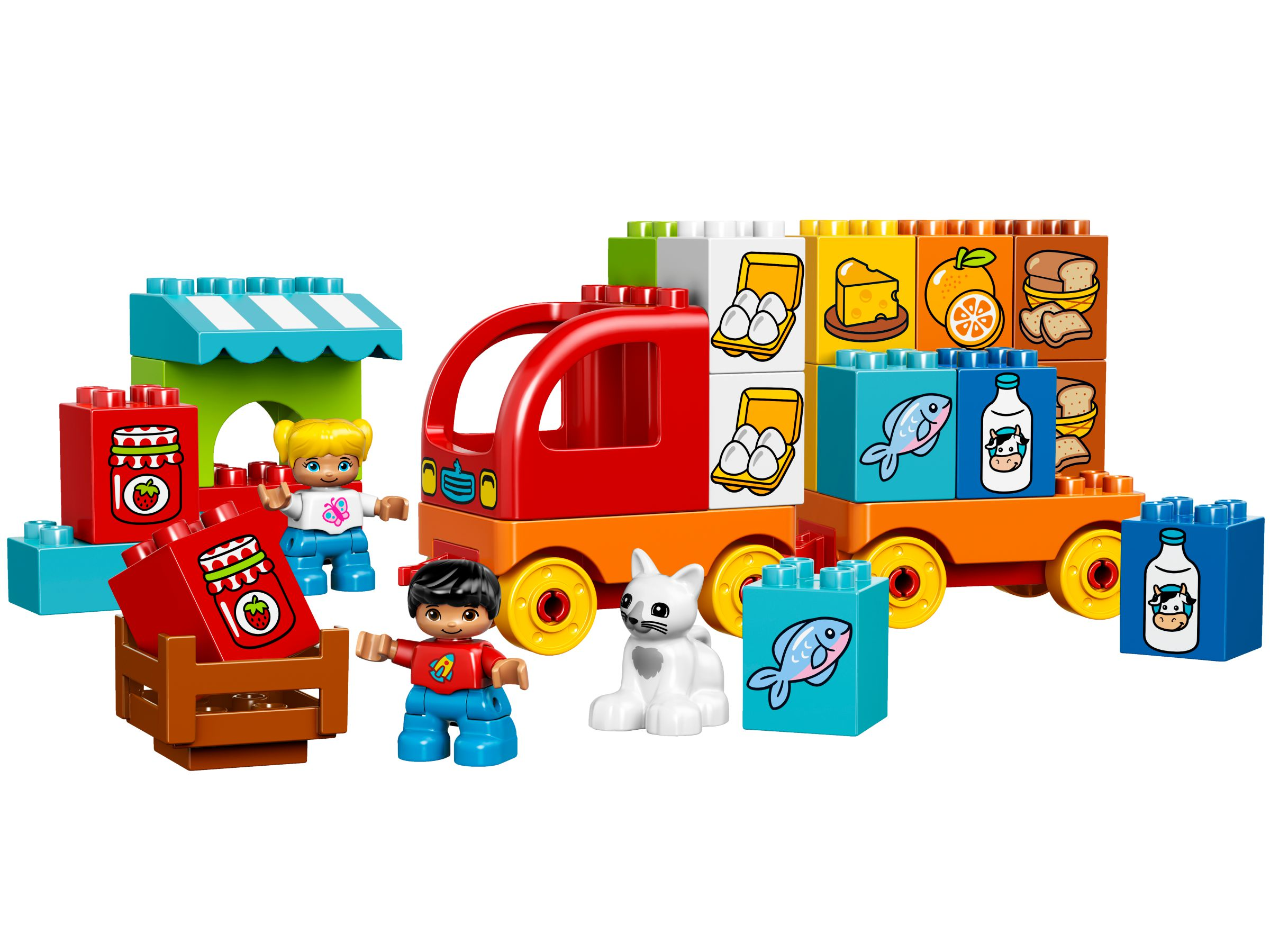 Lego Duplo. Мой первый грузовик от Toyway