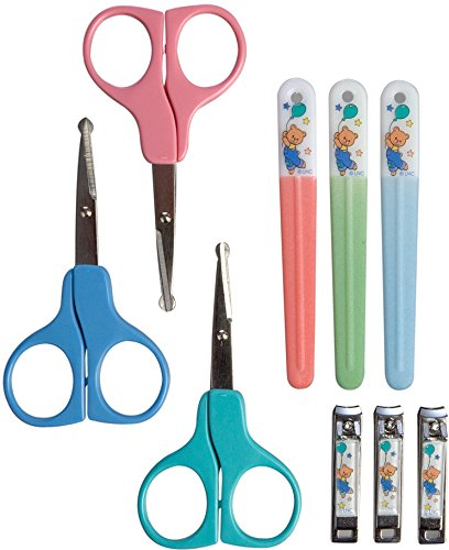 Ножницы в наборе с щипчиками и пилочкой, 3 цветапредметы гигиены<br>Ножницы в наборе с щипчиками и пилочкой, 3 цвета<br>