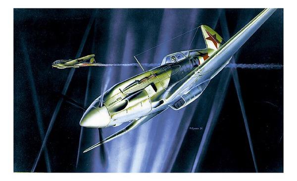 Купить со скидкой Сборная модель - Самолёт МиГ-3