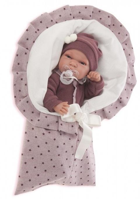 Кукла Паола в фиолетовом, 33 см.Куклы Антонио Хуан (Antonio Juan Munecas)<br>Кукла Паола в фиолетовом, 33 см.<br>