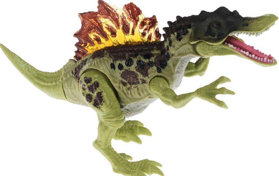 Подвижная фигура Спинозавр, звукЖизнь динозавров (Prehistoric)<br>Подвижная фигура Спинозавр, звук<br>