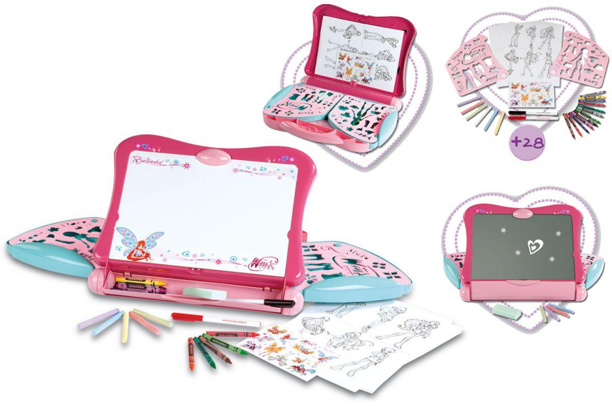 Winx Believix - доска для рисованияМольберты<br>Детская доска для рисования выполненная в стиле Winx...<br>