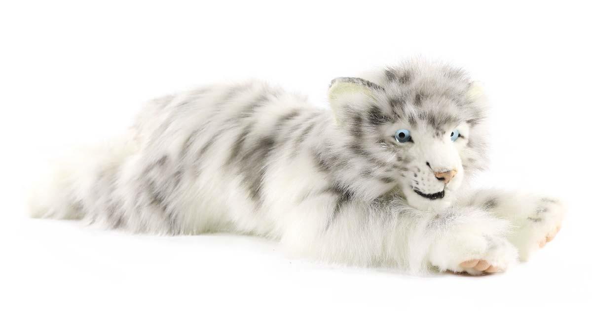 Купить Мягкая игрушка - Детеныш белого тигра лежащий, 54 см, Hansa