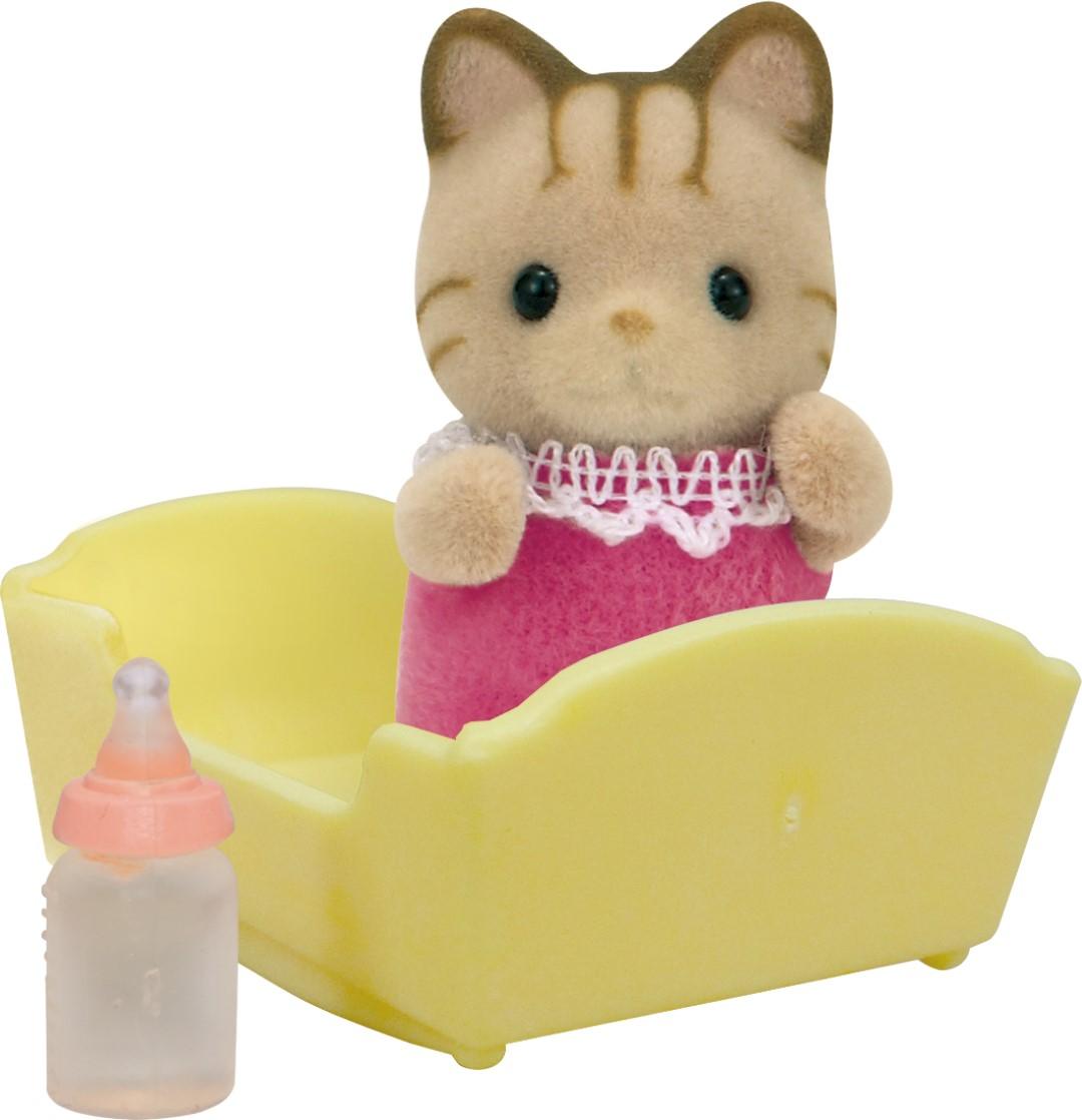 Купить Sylvanian Families - Малыш Полосатый котёнок, Epoch