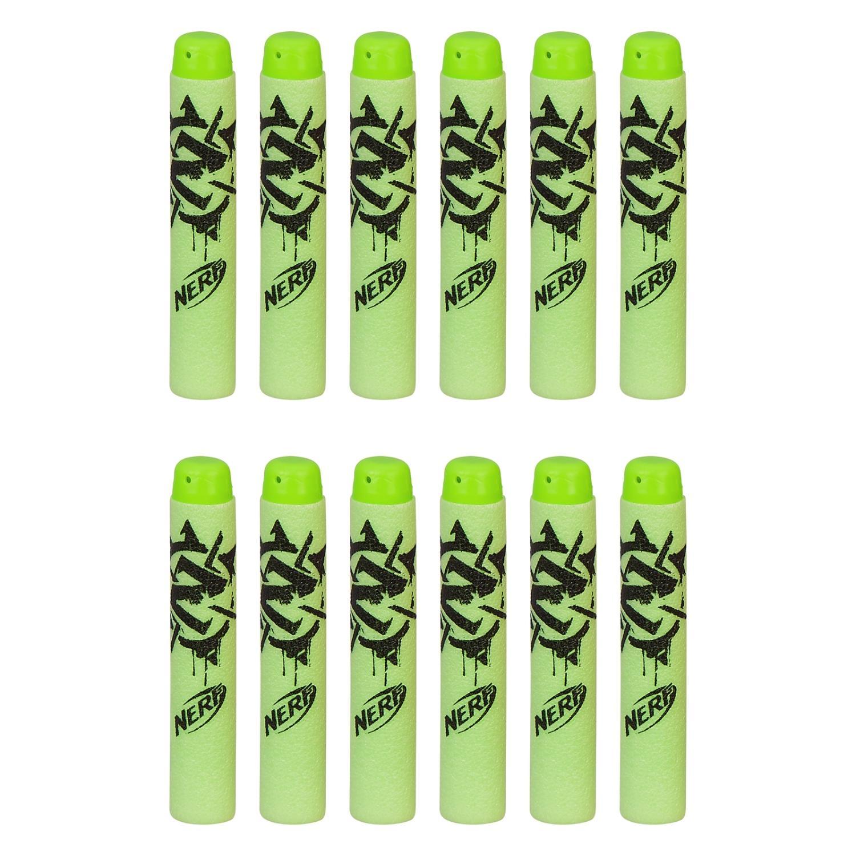 Набор из 12 стрел для бластера Нёрф Зомби СтрайкБластеры NERF Hasbro<br>Набор из 12 стрел для бластера Нёрф Зомби Страйк<br>