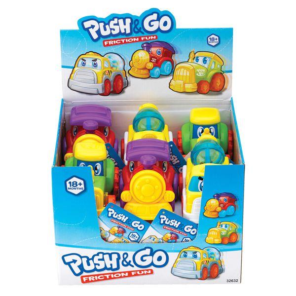 Машинки Push&amp;GoМашинки для малышей<br>Машинки Push&amp;Go<br>