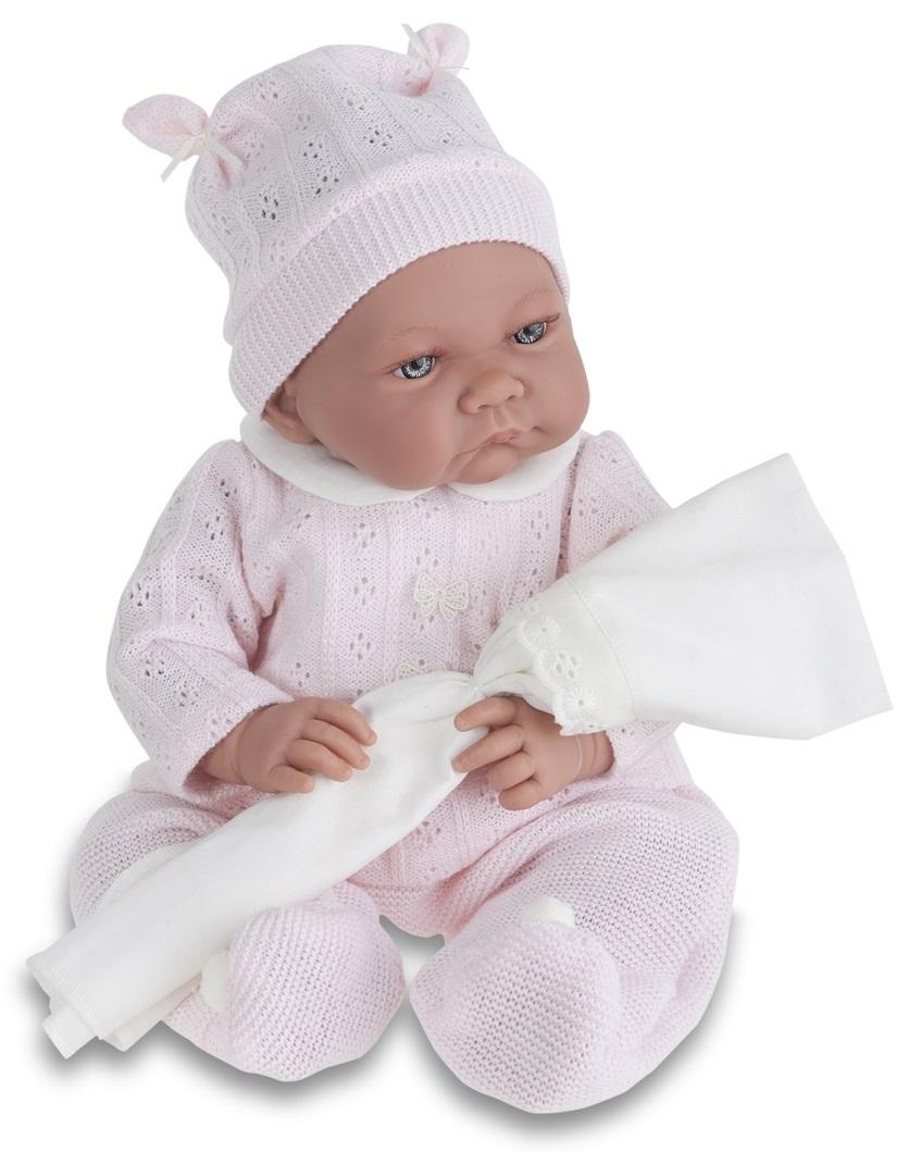 Кукла Ника в розовом, озвученная, 40 см.Куклы Антонио Хуан (Antonio Juan Munecas)<br>Кукла Ника в розовом, озвученная, 40 см.<br>