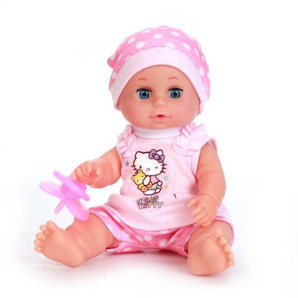 Купить Пупс из серии Hello Kitty, пьет и писает, 3 функции, с аксессуарами, 20 см., Карапуз