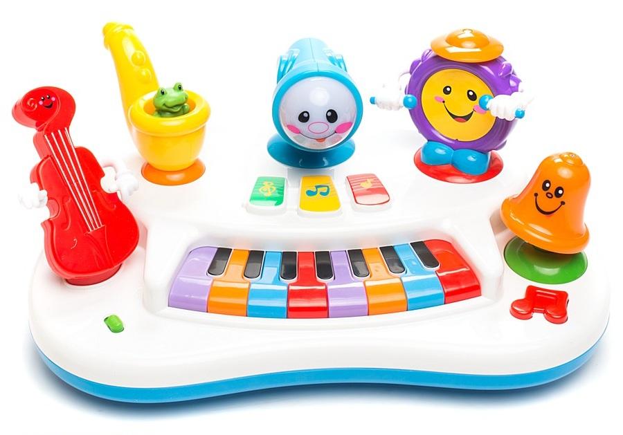 Развивающая игрушка «Пианино Рок-банда»Синтезаторы и пианино<br>Развивающая игрушка «Пианино Рок-банда»<br>