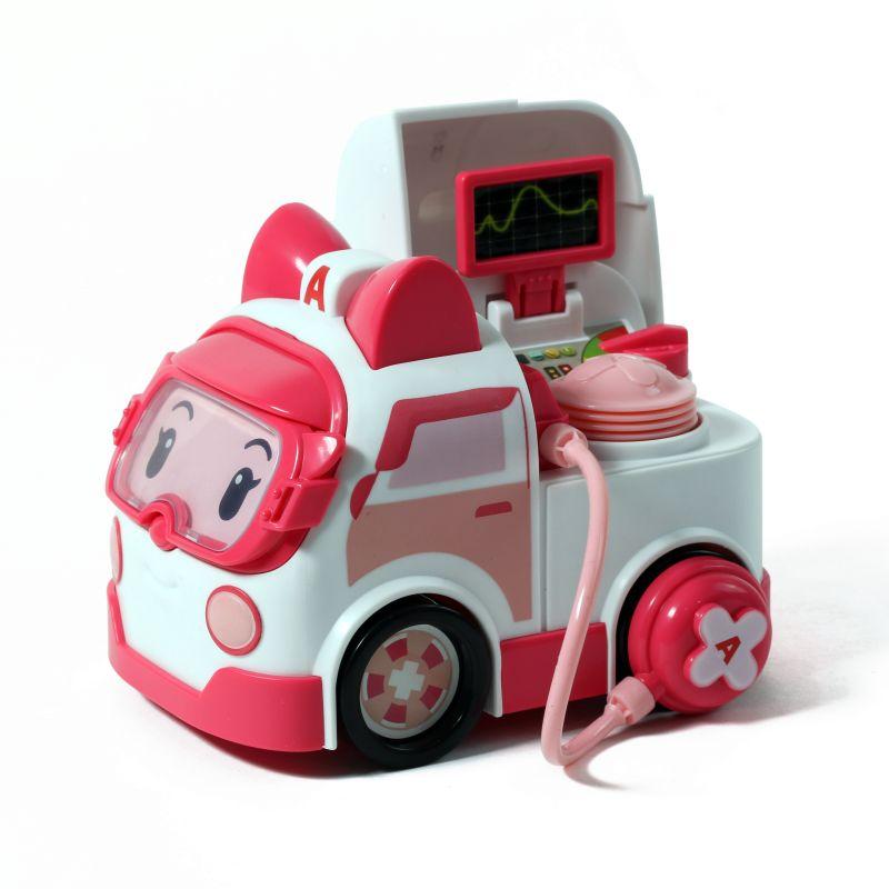Купить Машинка Эмбер с аксессуарами из серии Робокар Поли, Silverlit