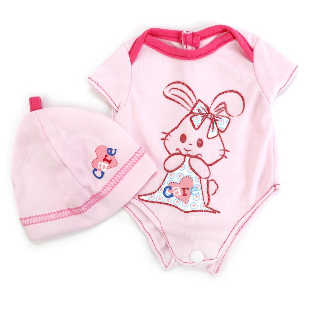 Купить Одежда для кукол – Комбинезон на плечиках, размер 40-42 см. в пакете, Карапуз