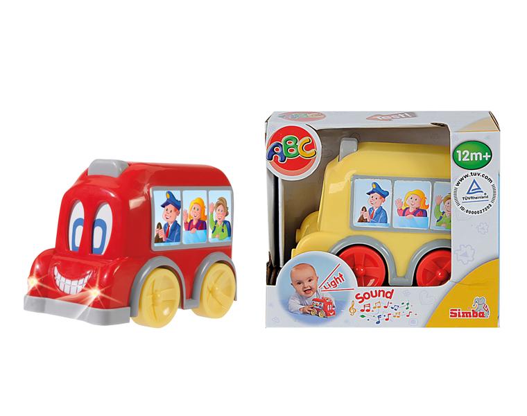 Автобус с движущимися глазами, со световыми и звуковыми эффектамиМашинки для малышей<br>Автобус с движущимися глазами, со световыми и звуковыми эффектами<br>