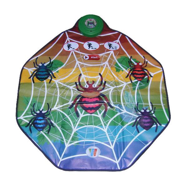 Музыкальный коврик Паутинка, свет и звукМикрофоны и танцевальные коврики<br>Музыкальный коврик Паутинка, свет и звук<br>