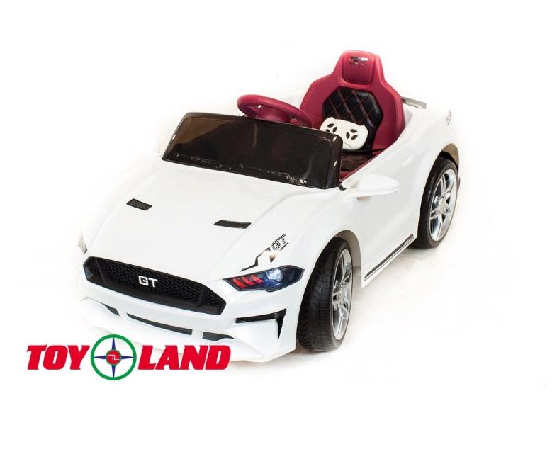 Купить Электромобиль ToyLand Ford GT, белого цвета