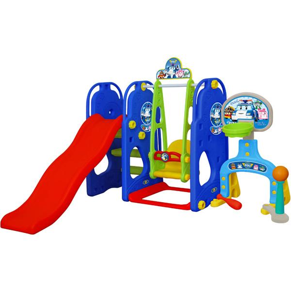 Игровой комплекс Полиция - Детские игровые горки, артикул: 161467