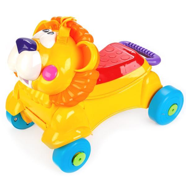 Купить Машинка для катания детей – Лев, свет и звук, Shantou