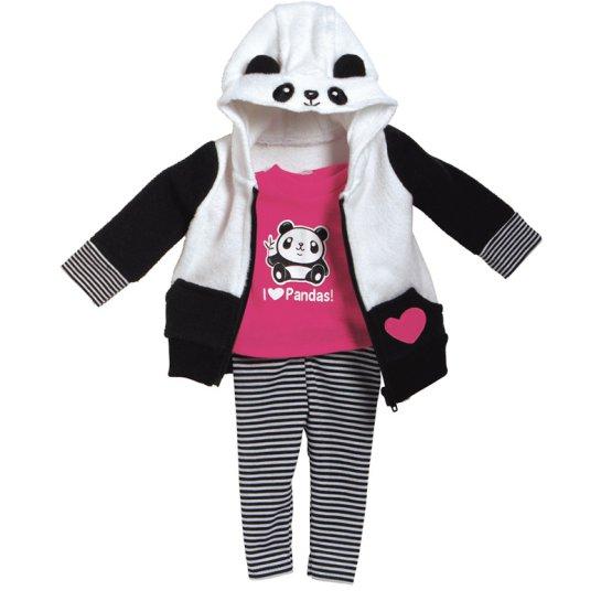 Костюм Панды для куклы размером 46 см.Одежда для кукол<br>Костюм Панды для куклы размером 46 см.<br>