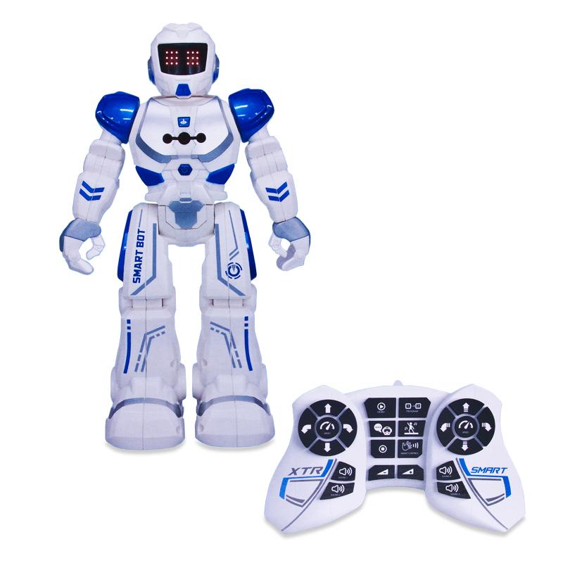 Робот на радиоуправлении - Xtrem Bots: Агент, со световыми и звуковыми эффектамиРоботы на радиоуправлении<br>Робот на радиоуправлении - Xtrem Bots: Агент, со световыми и звуковыми эффектами<br>