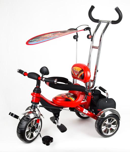Детский трехколесный велосипед Cars «Тачки»Велосипеды детские<br>Детский трехколесный велосипед Cars «Тачки»<br>