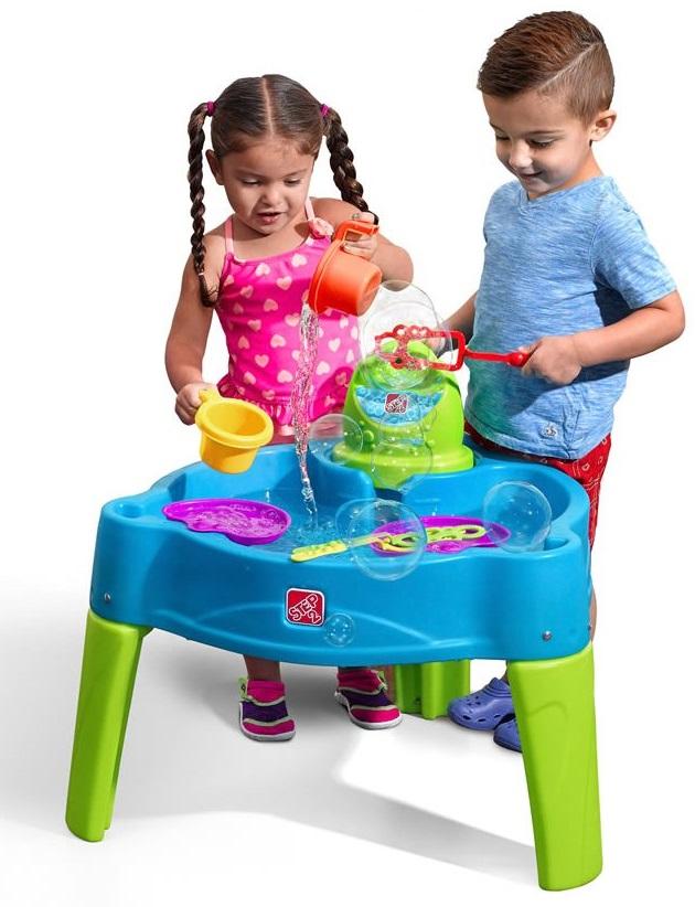 Столик для игр с водой Step 2 - Волшебные пузыри
