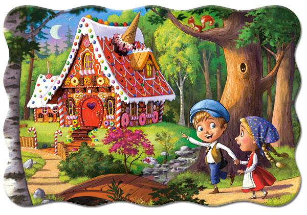 Купить со скидкой Пазлы Castorland – Пряничный домик, 20 маxi элементов