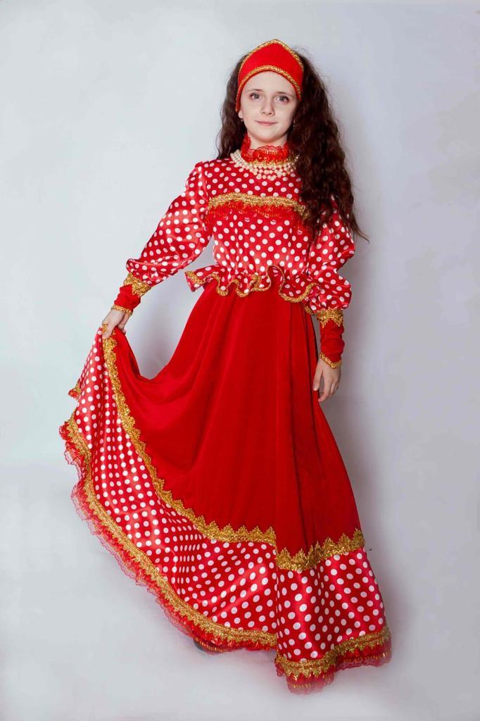 Платье нарядное, карнавальное – Любава, размер 140-72 фото
