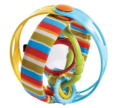 Развивающая игрушка Вращающийся бубенРазвивающие игрушки Tiny Love<br>Развивающая игрушка Вращающийся бубен<br>