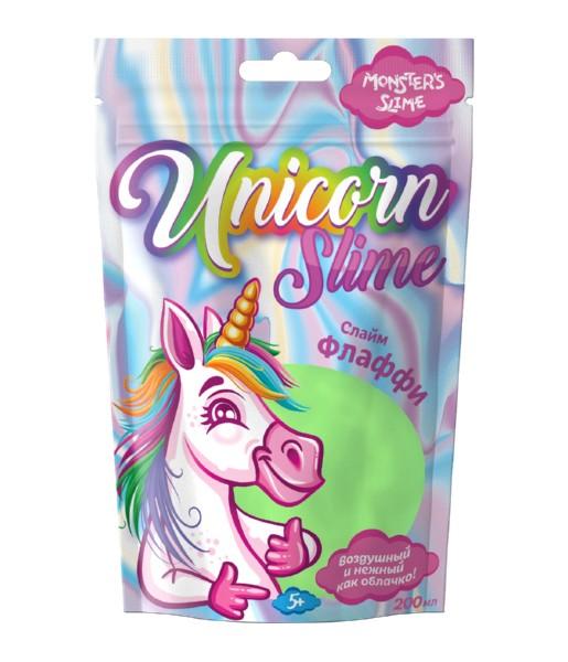 Слайм Monster's Slime Unicorn Fluffy Slime фото