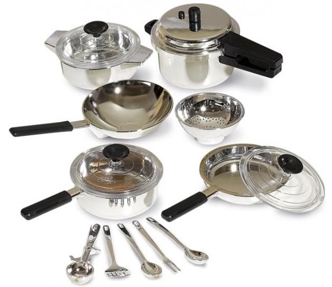 Игровой набор - Кухонная посудаАксессуары и техника для детской кухни<br>Игровой набор - Кухонная посуда<br>