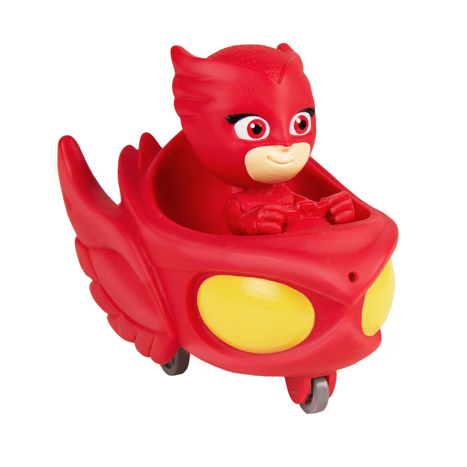 Купить Игрушка для ванны - Алетт в машине из серии Герои в масках ТМ PJ Masks, Росмэн