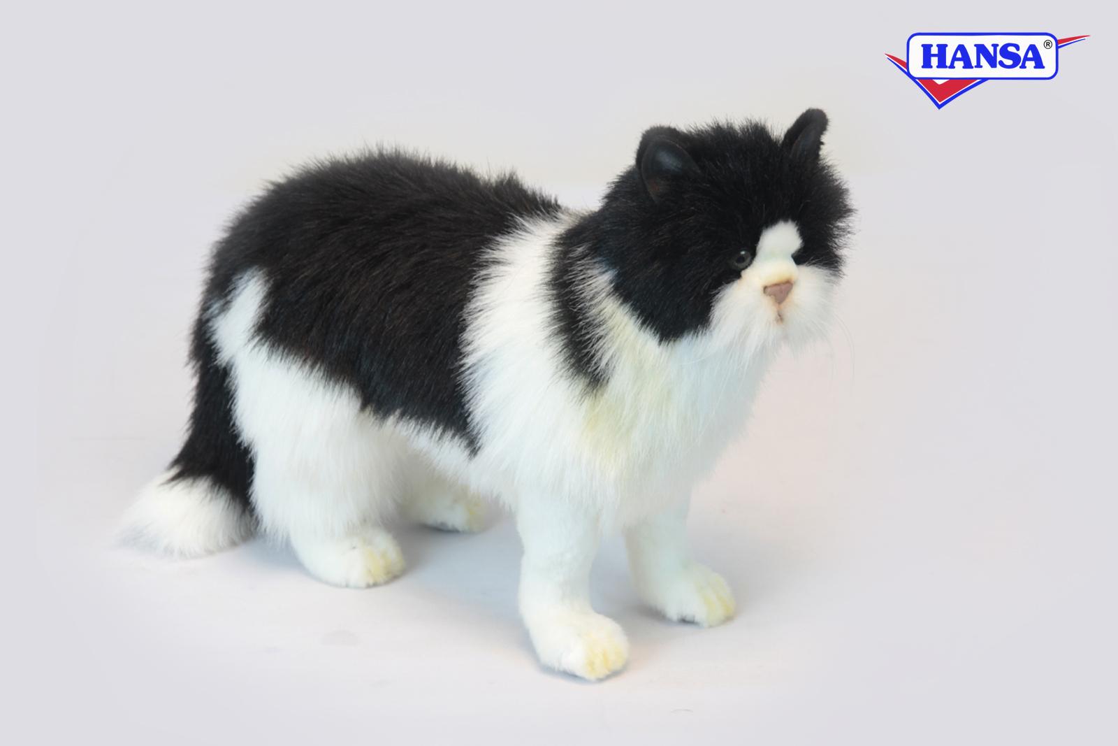 Купить Мягкая игрушка - Кот черный, 46 см, Hansa