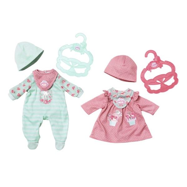 Одежда для куклы my first Baby Annabell 36 см, 2 видаОдежда Baby Annabell<br>Одежда для куклы my first Baby Annabell 36 см, 2 вида<br>