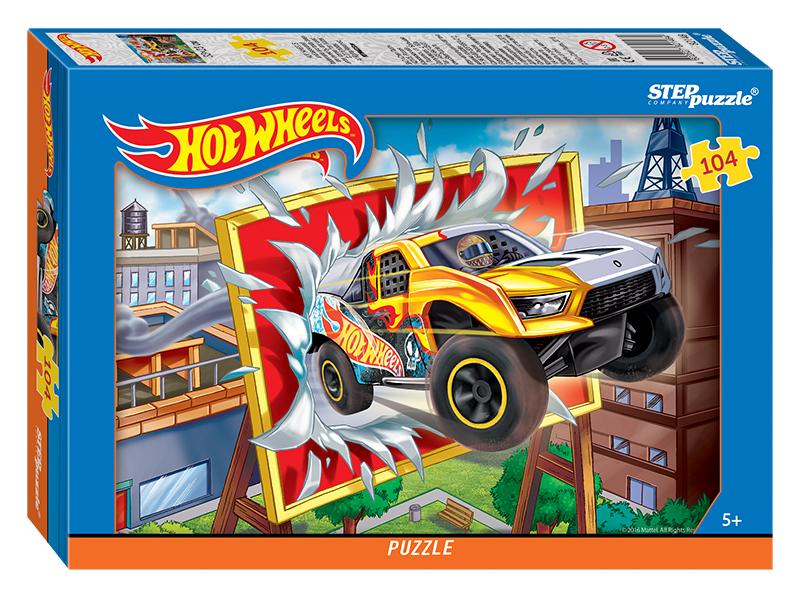 Пазл Mattel - Hot Wheels, 104 элементаПазлы с Мульт Героями<br>Пазл Mattel - Hot Wheels, 104 элемента<br>
