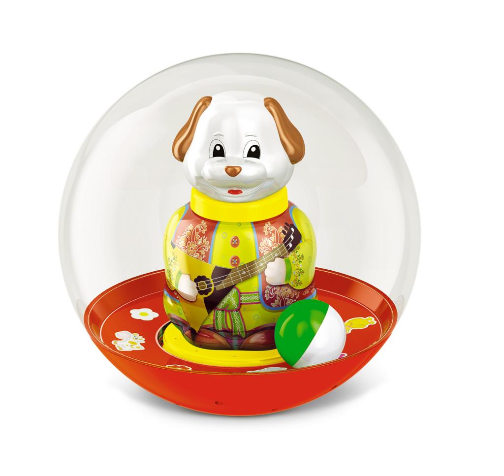Неваляшка шар - Собачка