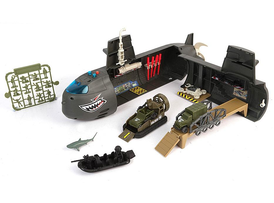 Набор: Нано-Армия - Подводная лодка с наполнением, звук, светВоенная техника<br>Набор: Нано-Армия - Подводная лодка с наполнением, звук, свет<br>