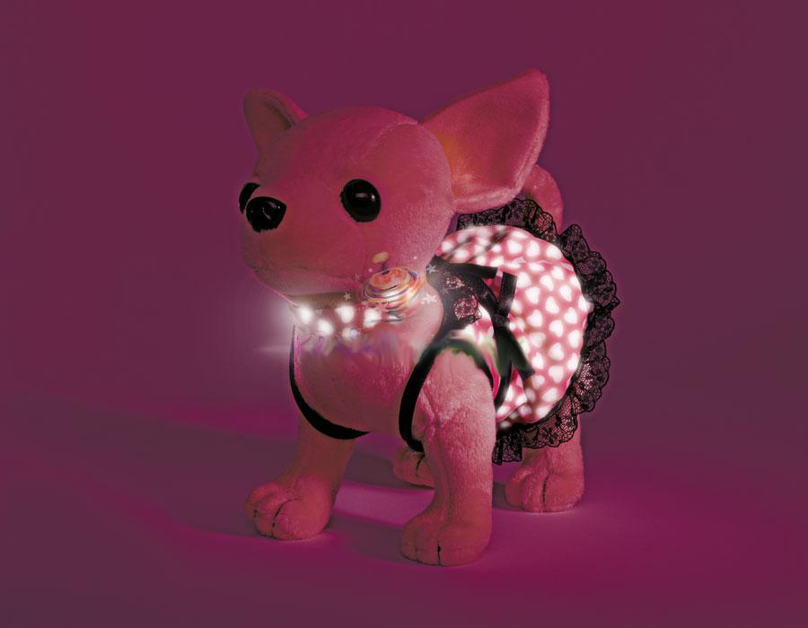 Chi-Chi Love: Плюшевая собачка Чихуахуа, 20 см, в платице, которое...