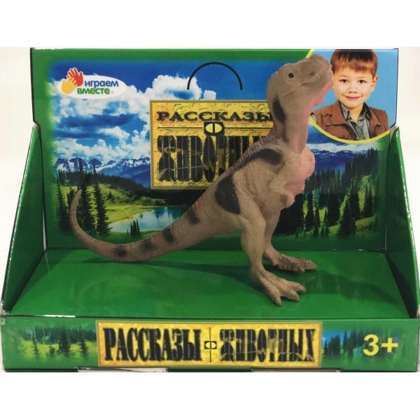 Купить Игрушка из пластизоля серия Динозавр – Велоцираптор, 11 х 4, 5 х 8 см, Играем вместе