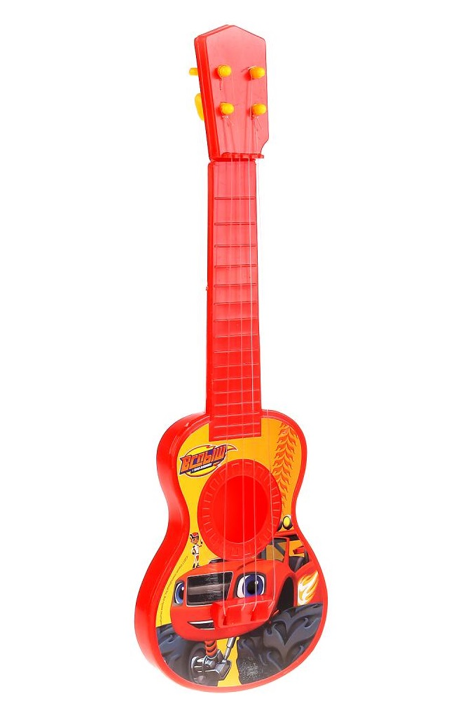 Гитара из серии Вспыш, на блистере фото