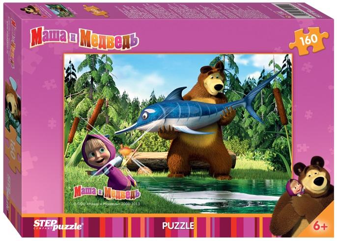 Пазл Маша и Медведь, 160 элементовПазлы 100+ элементов<br>Пазл Маша и Медведь, 160 элементов<br>